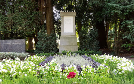 Köln Melatenfriedhof Grabstein Guido Westerwelle