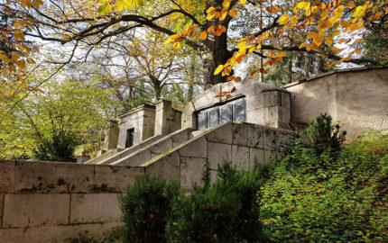 Weimar Hauptfriedhof Grabanlage Kötschau