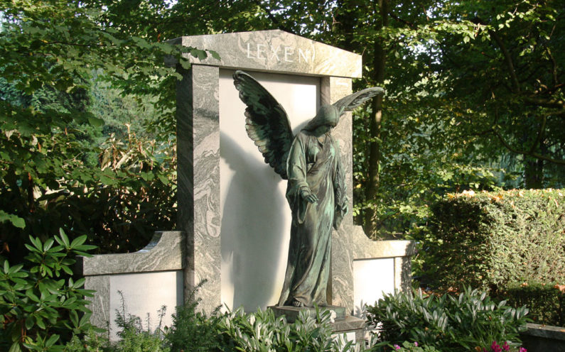 Köln Melatenfriedhof Grabanlage Lexen - 2