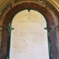 Grabstätte Friedich Grab Grabstein Siemens Dresden neuer Annenfriedhof