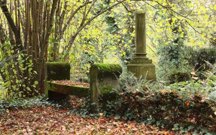 Weimar Hauptfriedhof Grabstein Georg Haar