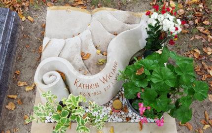 Saalfeld Hauptfriedhof Grabmal Wieland