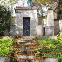 Grabstätte Familiengrabstätte historisch Antik Maler Künstler Carl Frithjof Smith
