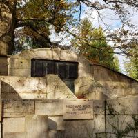 Historische Antike Grabstätte Grabanlage Grabstein Henry van de Velde Karl Theodor Koetschau Weimar Hauptfriedhof