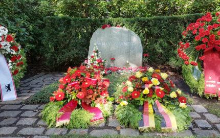 Berlin Waldfriedhof Zehlendorf Gedenkstätte Willy Brandt
