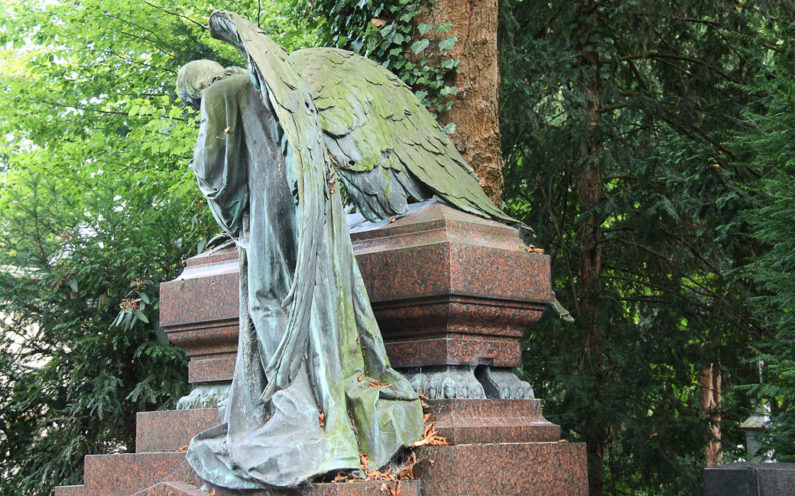 Köln Melatenfriedhof Familiengrabanlage Schanzleh - 2