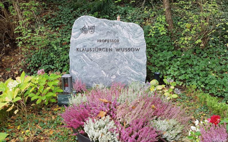Berlin Friedhof Heerstraße Grabstein – Klausjürgen Wussow - 1