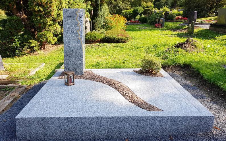 Greiz Hauptfriedhof Grabanlage Klotsche - 1