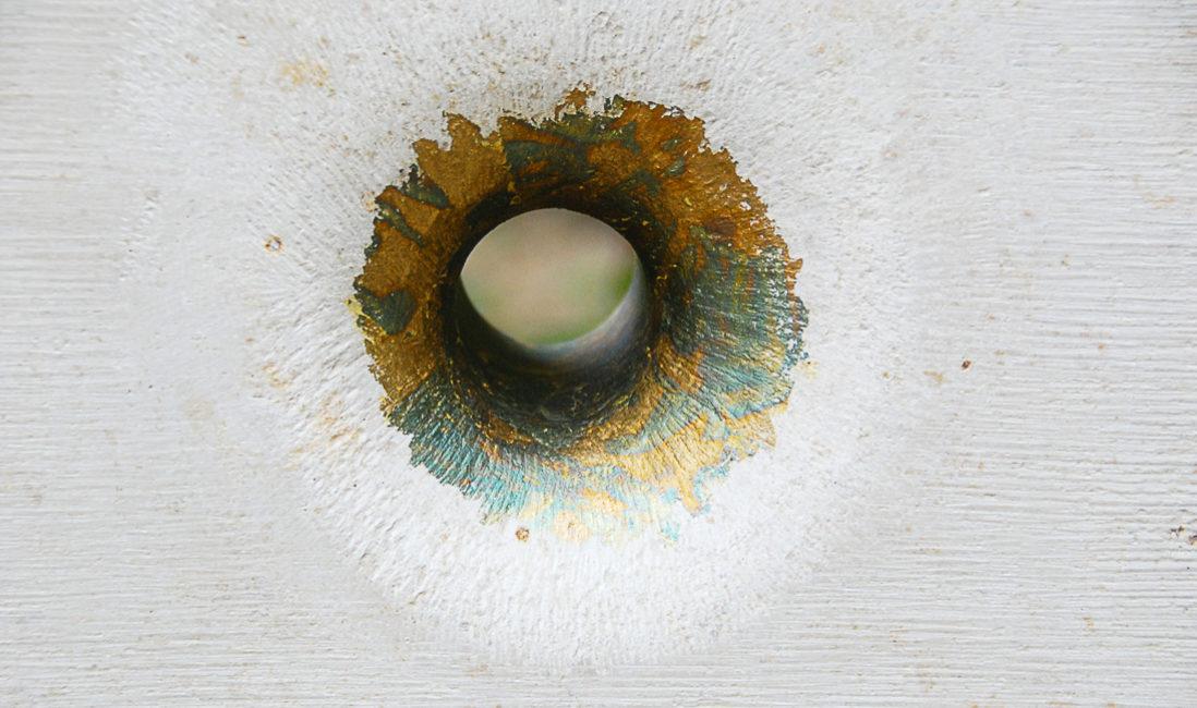 Grabstein Stele Grabanlage Steinmetz Öffnung Kalkstein Kupfer Grabinschrift Grabbepflanzung Herbst Landesgartenschau Apolda