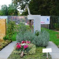 Mustergräber Grabgestaltung Einzelgrab Grabbepflanzung pflegeleicht Lavendel
