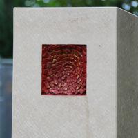 Grabstein Symbol Leben - Tod