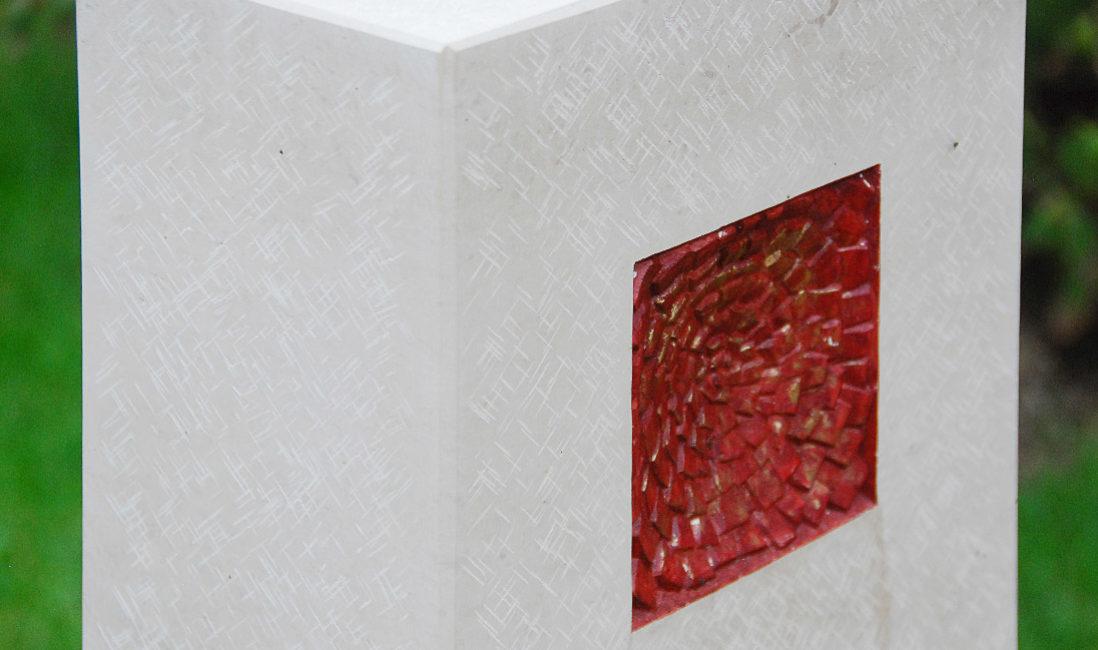 Grabstein Ornament Symbol rot