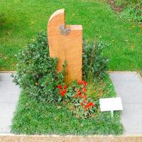 Urnengrab Gestaltung Mustergrab Landesgartenschau Bodendecker Grabbepflanzung Fotos Beispiele Ideen