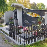 Familiengrab Gestaltung Gestalten Grabwand Grabstein Familiengrabstätte Beispiel Ideen Fotos Bilder Bauerfeind Zeulenroda