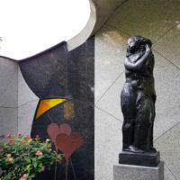 Gemeinschaftsgrabstätte Familiengrabstätte Familiengedenkstätte Skulptur Beispiel Bauwerk Idee Bauerfeind Zeulenroda