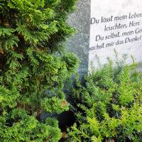 Grabspruch Grabsteininschrift religiös & christlich