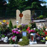 Grabgestaltung Doppelgrab Familiengrab Grabstein Grabmal Beispiel Idee Fotos