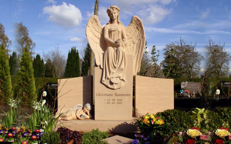 Engel Grabsteine Grabmale aus Sandstein