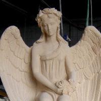Grabengel-Herstellung-Steinmetz-Bildhauer-Hersteller-Lieferant-Engel-Grabsteine