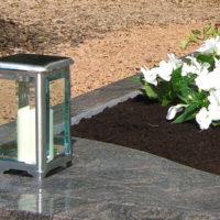 Grabschmuck-Grablicht-Grablaterne-Deko-Grab-Enfassung