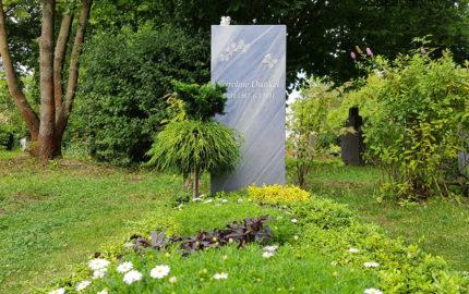 Neustadt an der Orla Friedhof Grabmal Dunkel
