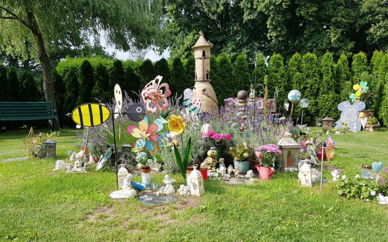 Petershagen evangelischer Friedhof Kindergrabmal Gemeinschaftsgrab