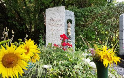 Neustadt an der Orla Friedhof Grabmal Papmeier