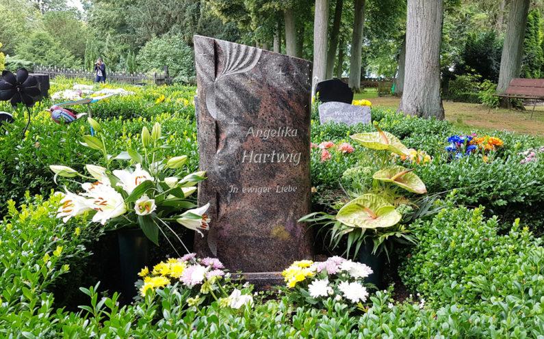 Demmin St. Bartholomaei Grabstätte Hartwig - 1