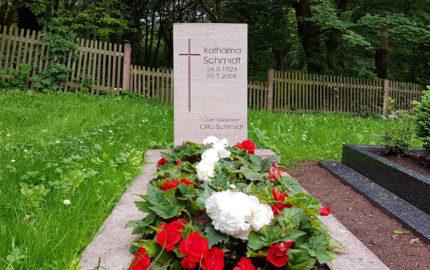 Cospeda Friedhof Grabmal Schmidt