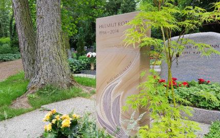 Erfurt Hauptfriedhof Grabmal Roth