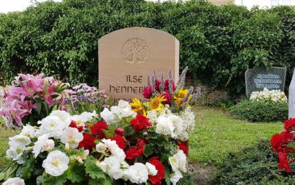Neustadt an der Orla Friedhof Grabmal Hirsch
