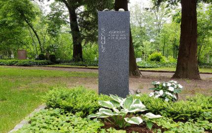 Erfurt Hauptfriedhof Grabmal Schulz