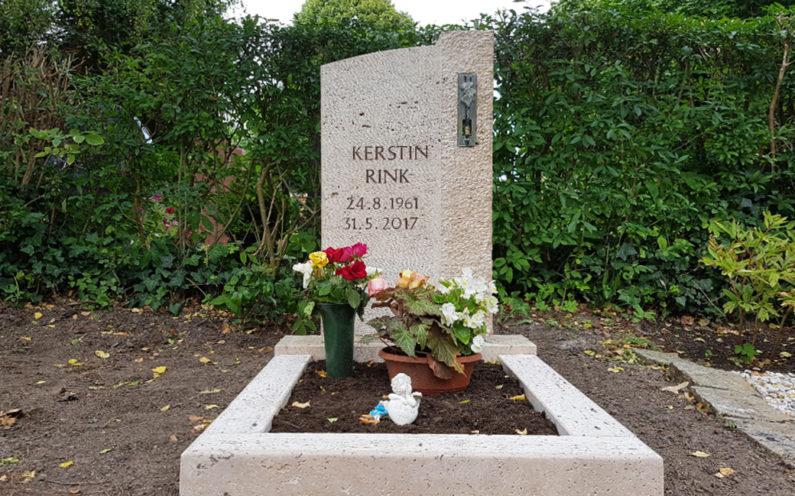 Neustadt an der Orla Friedhof Grabmal Rink