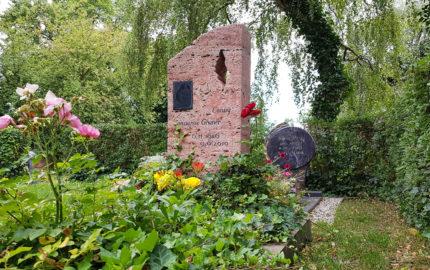 Neustadt an der Orla Friedhof Grabstein Gruner