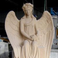 Grabsteine-Engel-Grabmale-Steinmetz-Bildhauer-Hersteller-Friedhofengel-Lieferant-Produzent