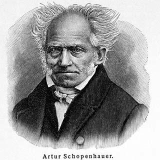 Eine Grafik zu Berühmter Trauerspruch von Schopenhauer