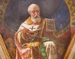 Eine Grafik zu Berühmter Trauerspruch von Augustinus