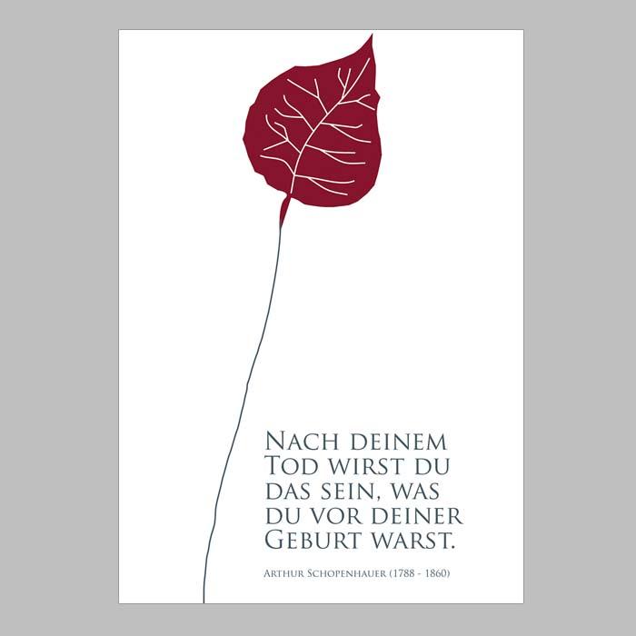 Gedichte trauerkarten kostenlos