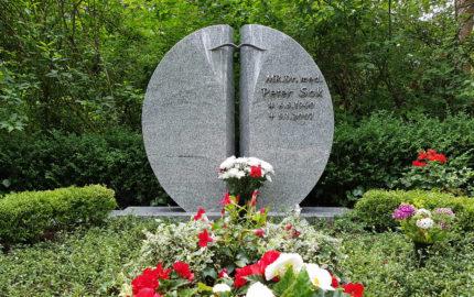 Erfurt Hauptfriedhof Grabmal Sok