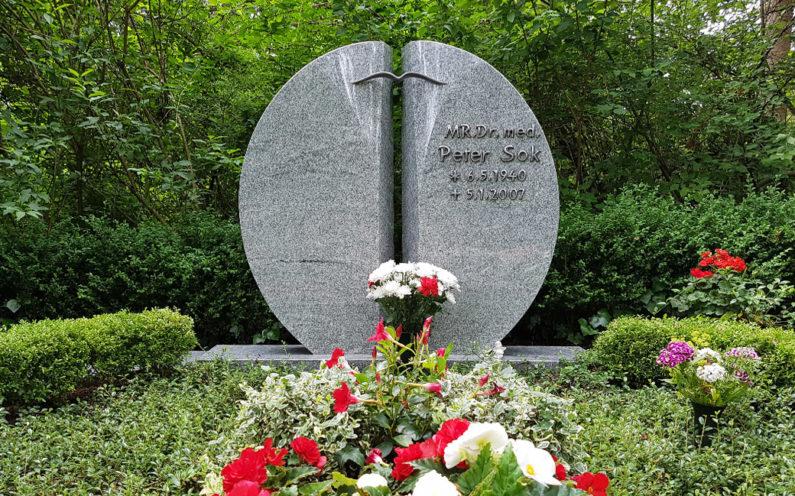 Erfurt Hauptfriedhof Grabmal Sok - 1