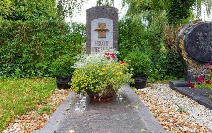 Neustadt an der Orla Friedhof Grabmal Wiedemann