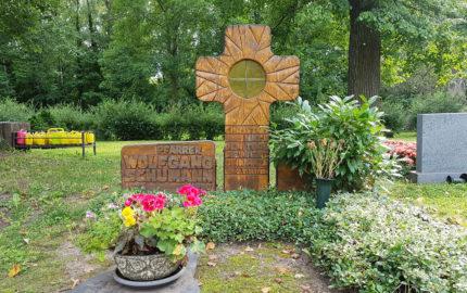Neustadt an der Orla Friedhof Grabmal Schuhmann