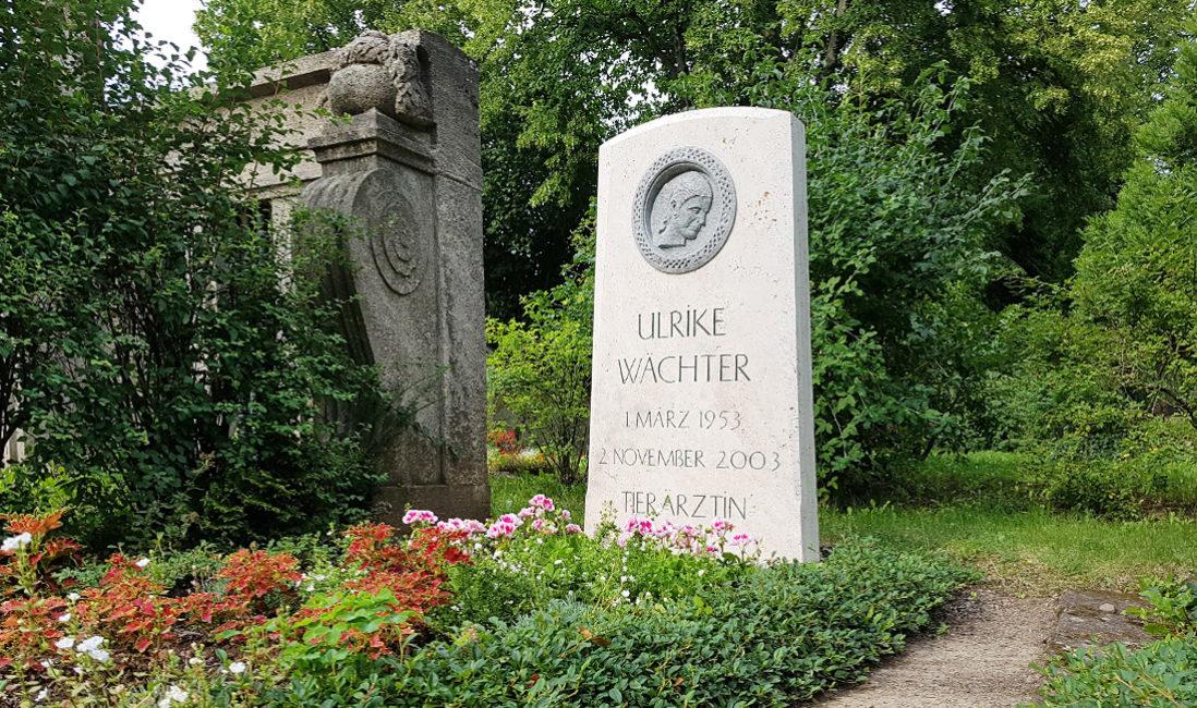 Grabstein Einzelgrab Kalkstein Granit Grabgestaltung Bodendecker Buchsbaum Friedhof Neustadt Orla