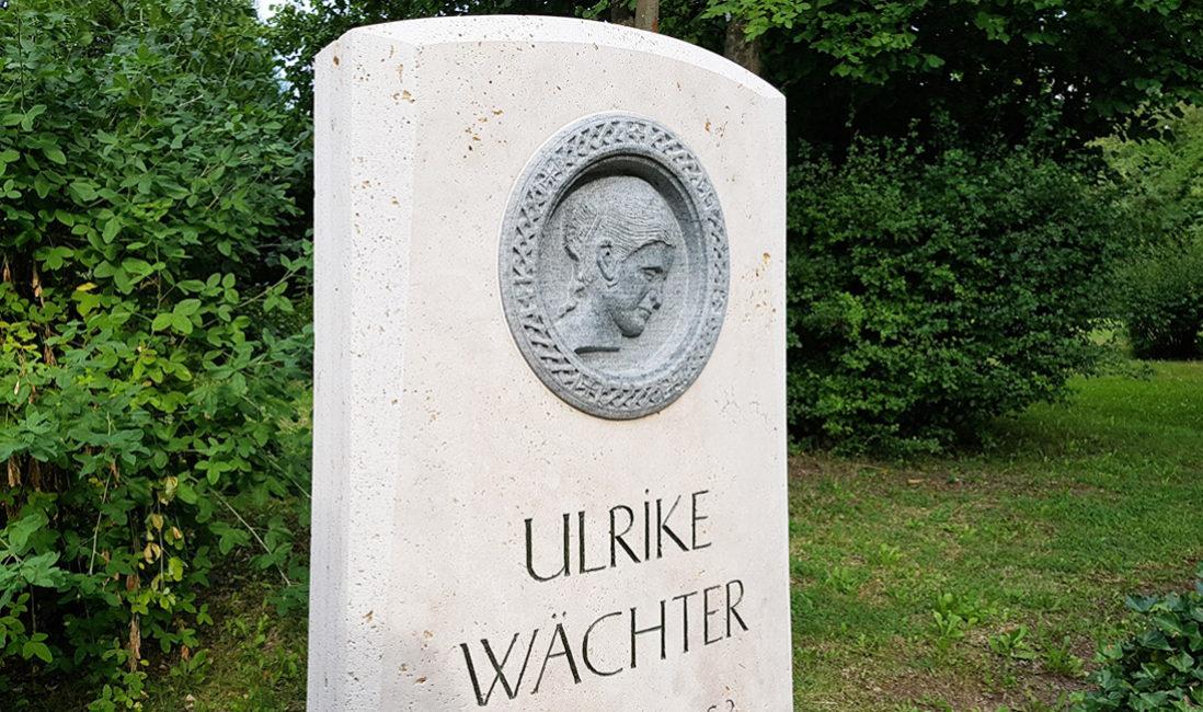 Grabmal Einzelgrabstelle Kalkstein Granit Grabspruch Steinmetz Idee