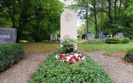 Neustadt an der Orla Friedhof Grabmal Wilke