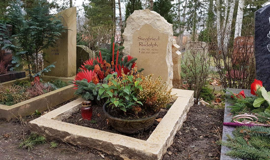 jena ostfriedhof urnengrabmal rudolph stilvolle grabsteine