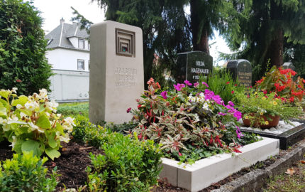 Weida Friedhof Grabmal Wirbs