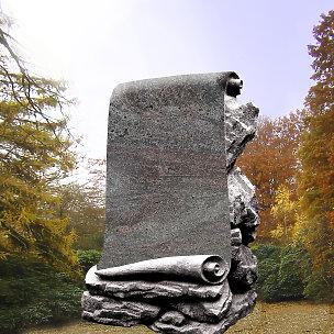 Eine Grafik zu Besondere Grabsteine aus Marmor, Sandstein und Granit