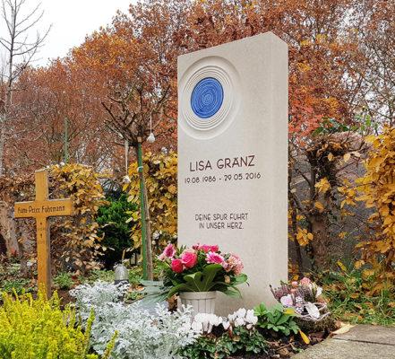 Eschborn Friedhof II Einzelgrabstein Gränz