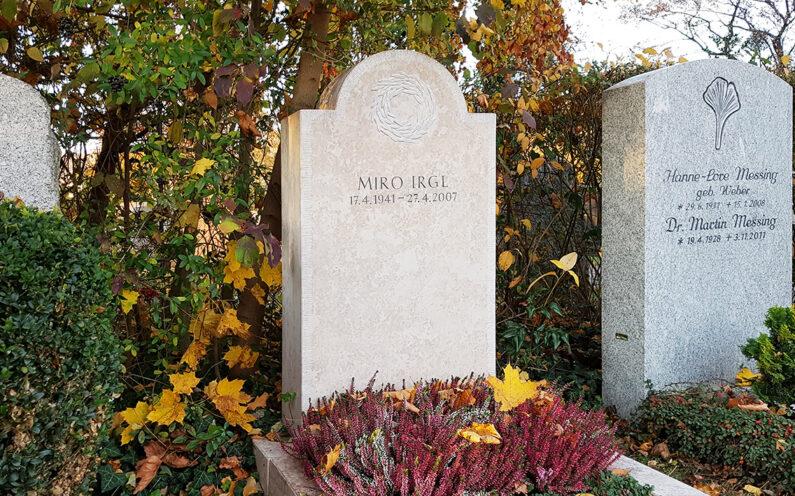Vaterstetten Friedhof Einzelgrab Irgl - 1